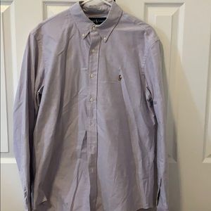 Light purple button down by Polo RL